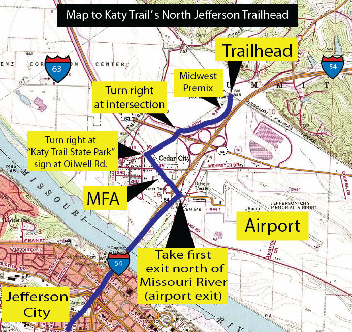 Gojim Tv Hiking And Biking Trails Katy Trail